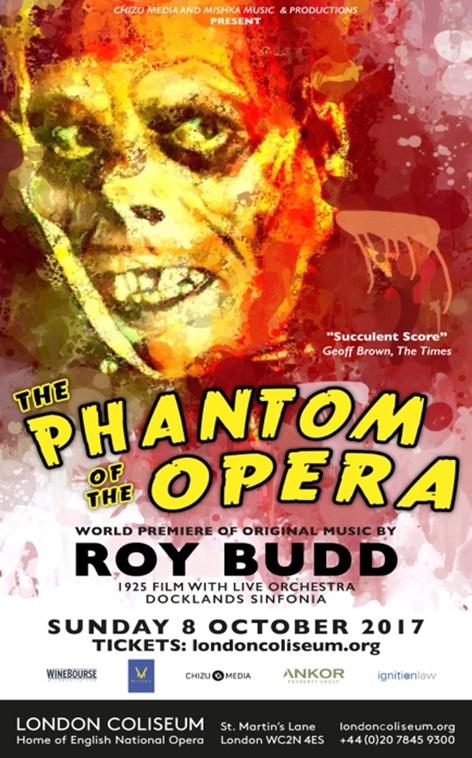【文化藝術】《歌劇魅影》的另一種聲音:英名作曲家Roy Budd遺作24年後首次公演