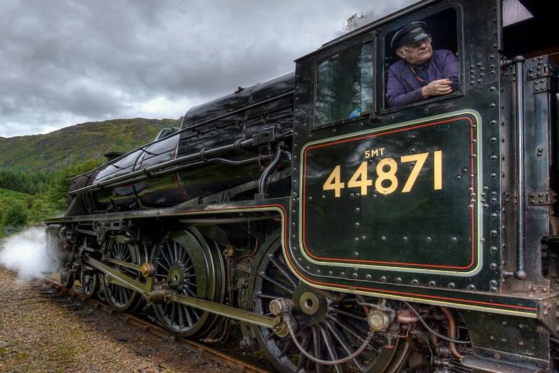 【英國遊】坐復古蒸汽火車穿梭英國